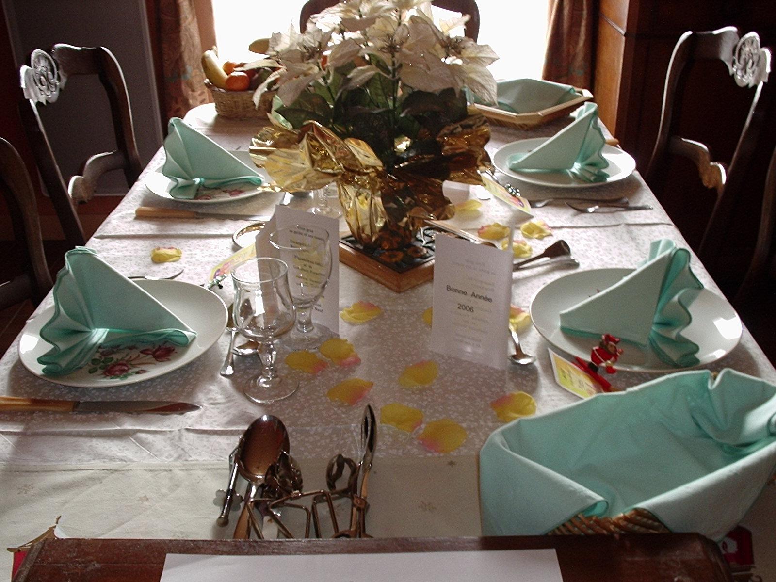 Aufouretout table de f te for Une nappe de table